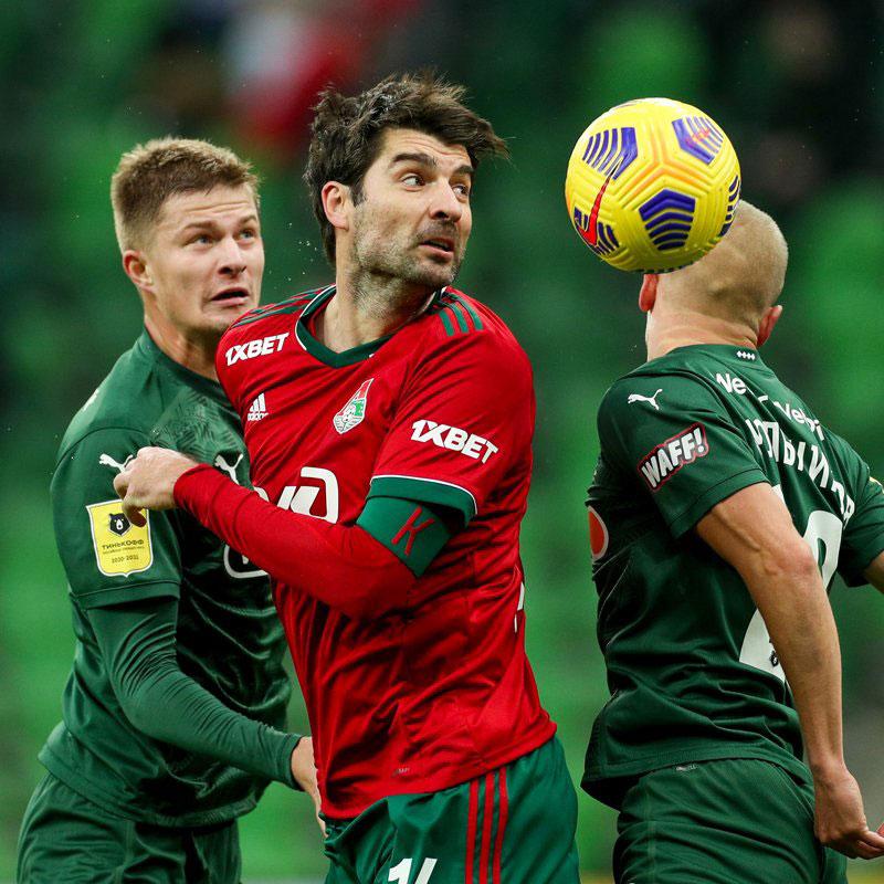Фотографии с матча Краснодар - Локомотив