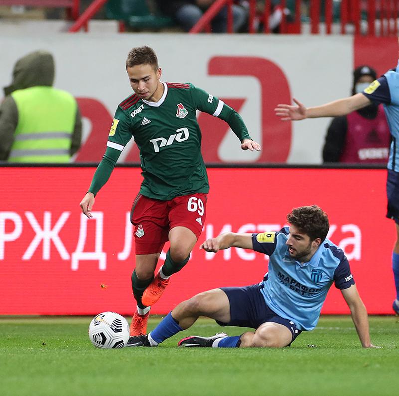 Фотографии с матча Локомотив - Ротор