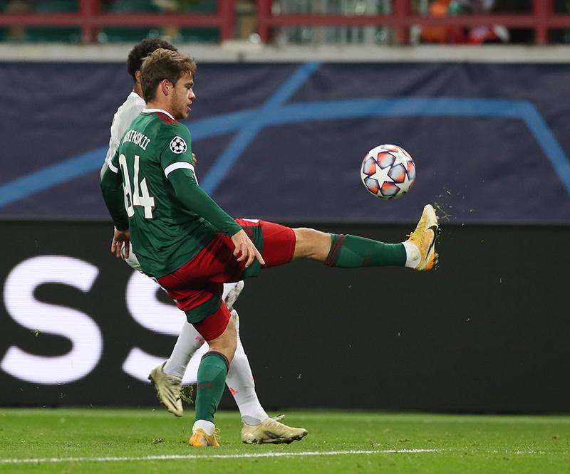 Фотографии с матча Локомотив - Бавария